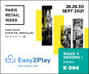 Rencontrez Easy2Play à la Retail Week 2021